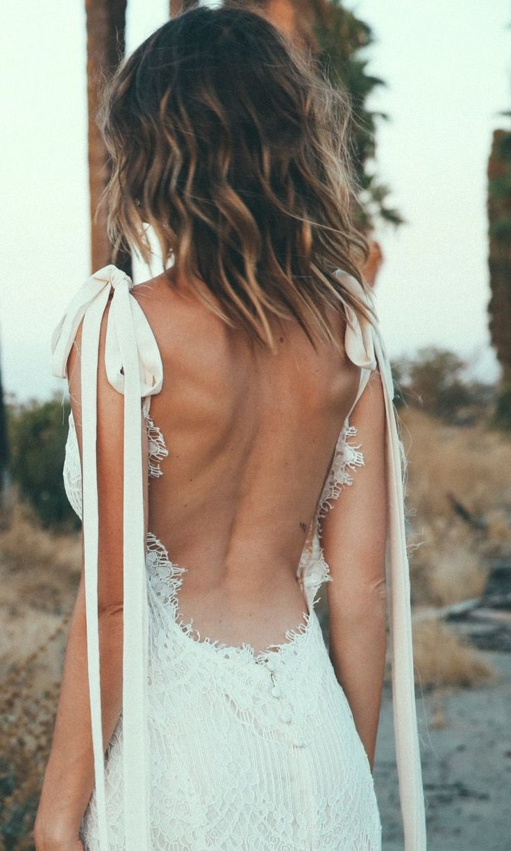 """2017 Daughters Of Simone Collection, Backless Lace Wedding Dress - """"O'Keeffe"""" Wedding Gown // Click to Shop"""