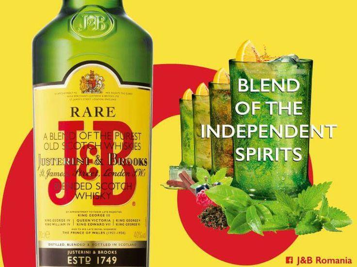 J&B Rare Scotch, whisky-ul numarul 1 in Romania, lanseaza, in curand, editia a doua a campaniei Blending Spirits, cea mai vizualizata campanie online din Romania, in cadrul careia cei mai in voga artisti ai momentului vor face schimb de roluri cu trupe underground. See More >> http://www.vipstyle.ro/ #JB #RareScotch #BlendingSpirits #Romania #Diageo #VIPstyle