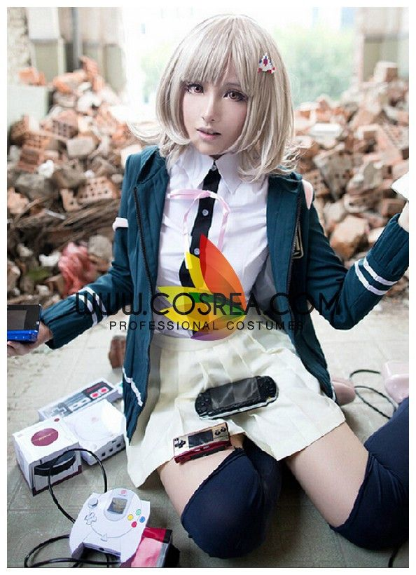 chiaki dangan ronpa cosplay - photo #29