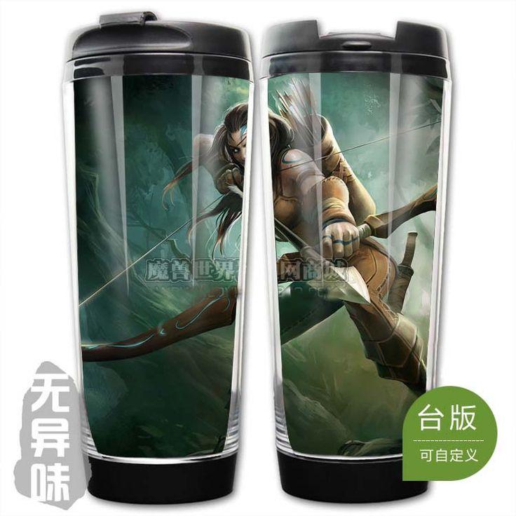 League of Legends LOL Woad Ashe Plastic Coffee Cup II