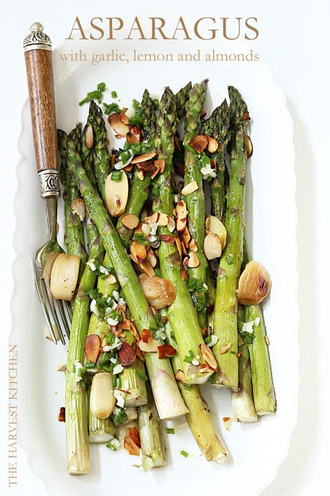 Roasted Asparagus with Lemon and Garlic | Asparagus and ...