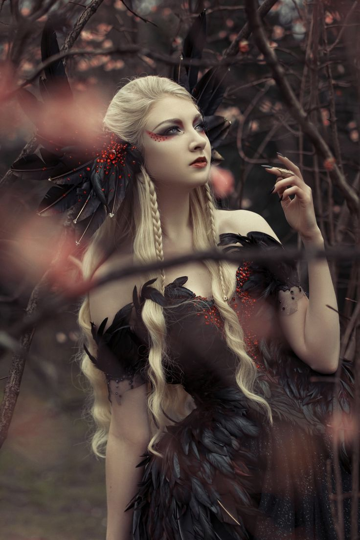 Model: Maria Amanda Photo: Photography Smashed... - Gothic and Amazing
