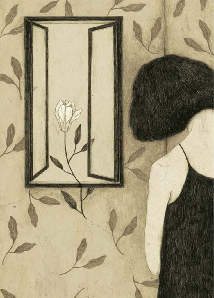 untitled Illustration by Monica Barengo da Polline [a flower among my thorns], Copyright Kite, 2013 (Frizzifrizzi)