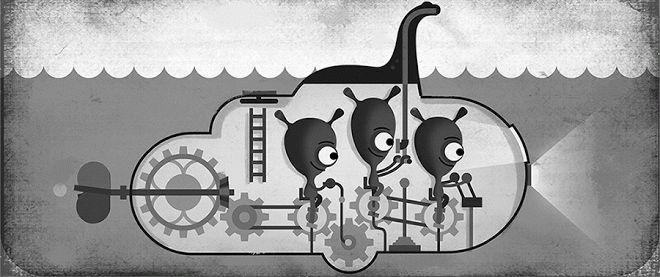 81 años buscando al monstruo del lago Ness – Doodle