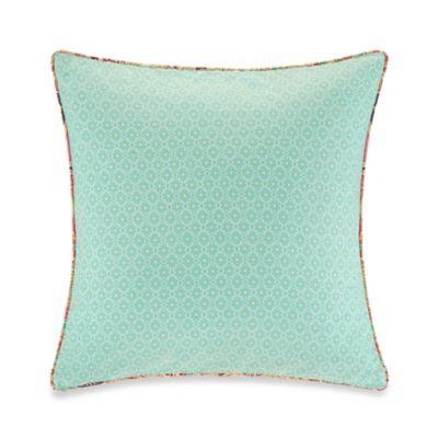 Echo Design™ Guinevere Square Throw Pillow in Mint