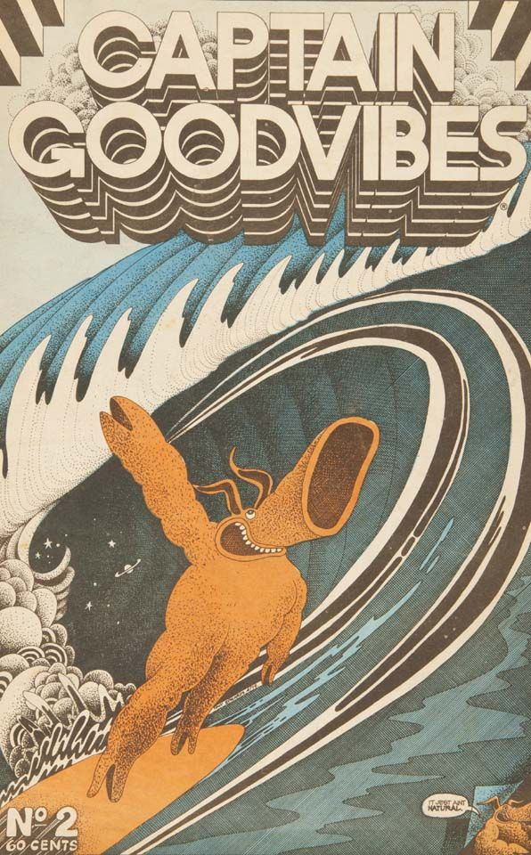 Captain Goodvibes spawned stand-alone comic books, an album, a short film and a radio show.