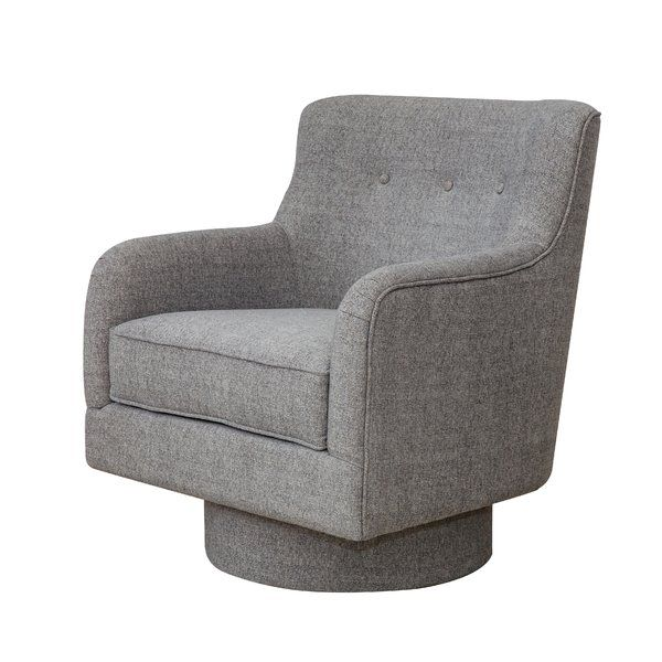 Liya Swivel Armchair Swivel Armchair Armchair Swivel Barrel Chair