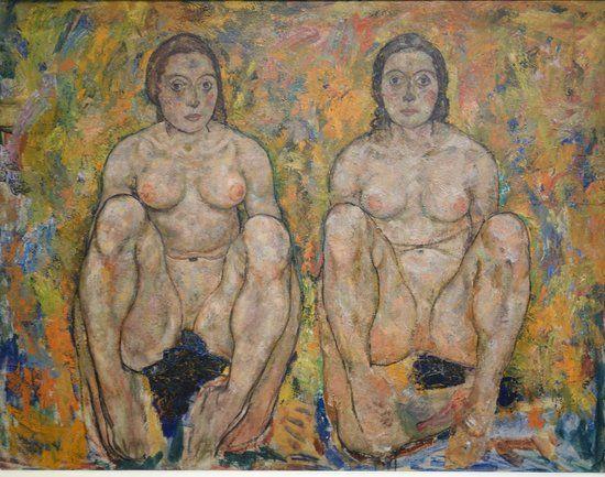 Δυο γυναίκες οκλαδόν (1918)