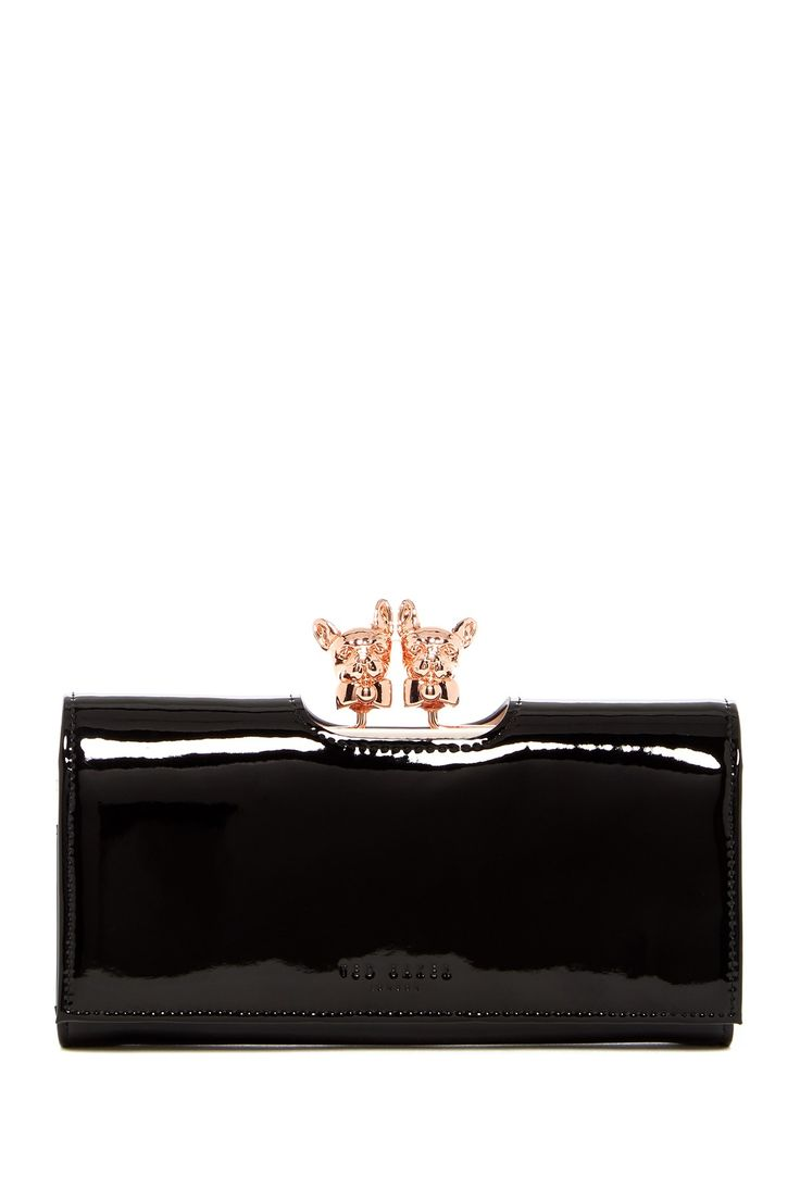 Karrine Bulldog Clasp Matinee Purse by Ted Baker London on @nordstrom_rack