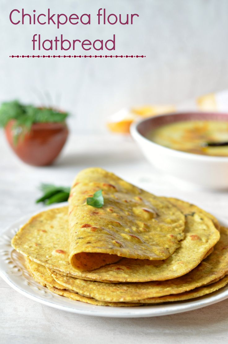 Besan ki masala Roti (Spicy chickpea flour bread)- is a high-protein, low-GI, easy flatbread. Great with yogurt and dry potato sabzis