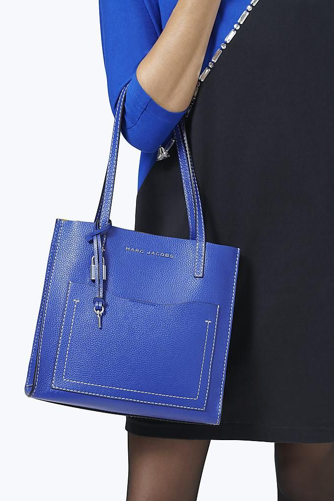 3600ebd87ffc The Medium Grind T Pocket Tote - Academy Blue Marc Jacobs Bag