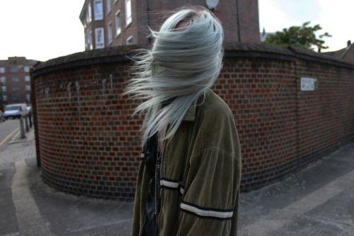 Imagem de hair, girl, and grunge