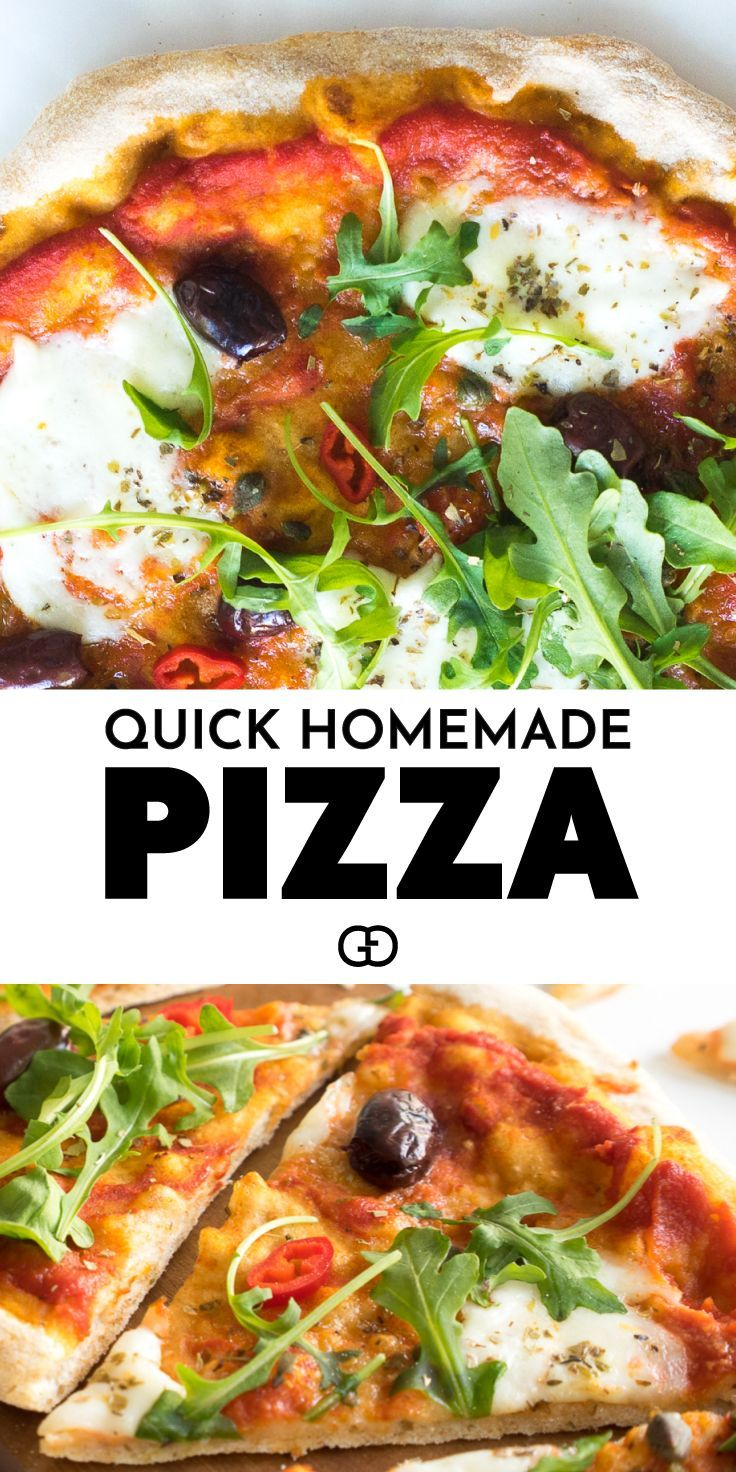 Easy Whole Wheat Pizza Dough Recipe Easy Homemade Pizza Healthy Pizza Recipes Pizza Recipes Easy