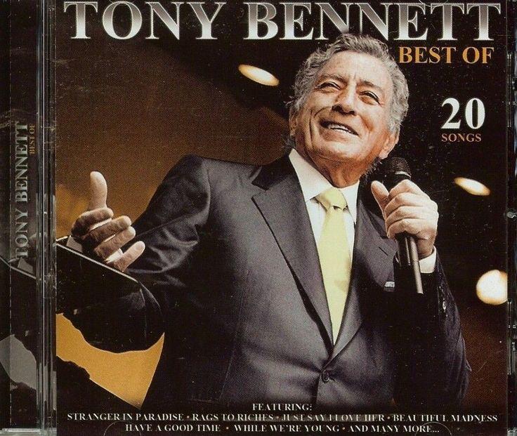 TONY BENNETT  THE BEST OF  20 SONGS  CD  NEW