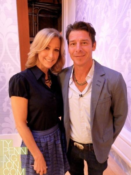 Ty Pennington and Good Morning America's Lara Spencer
