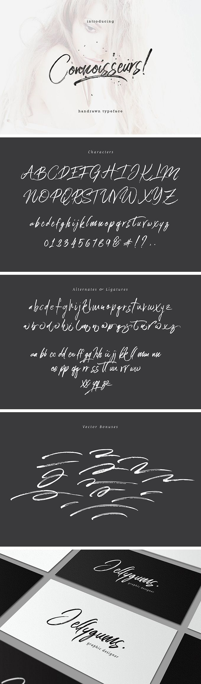 Connoisseurs Typeface - download freebie by PixelBuddha