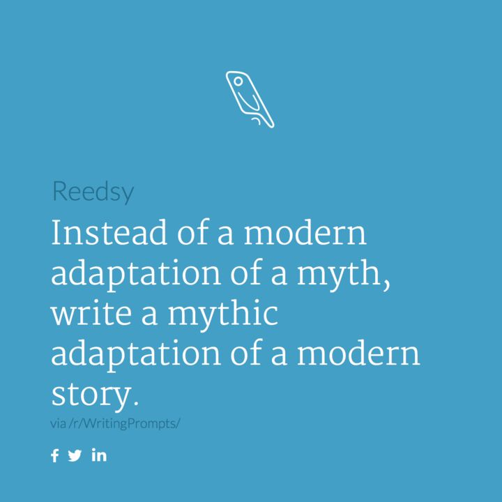Story Prompt                                     https://reedsy.com/writing