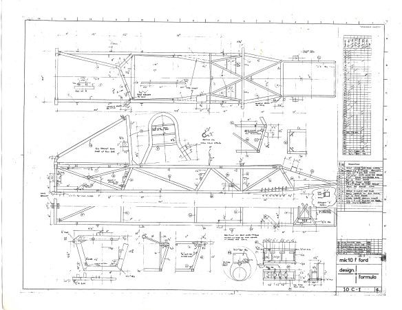 Elden Formula Ford Mk10 Chassis Drawings Lch Restorations