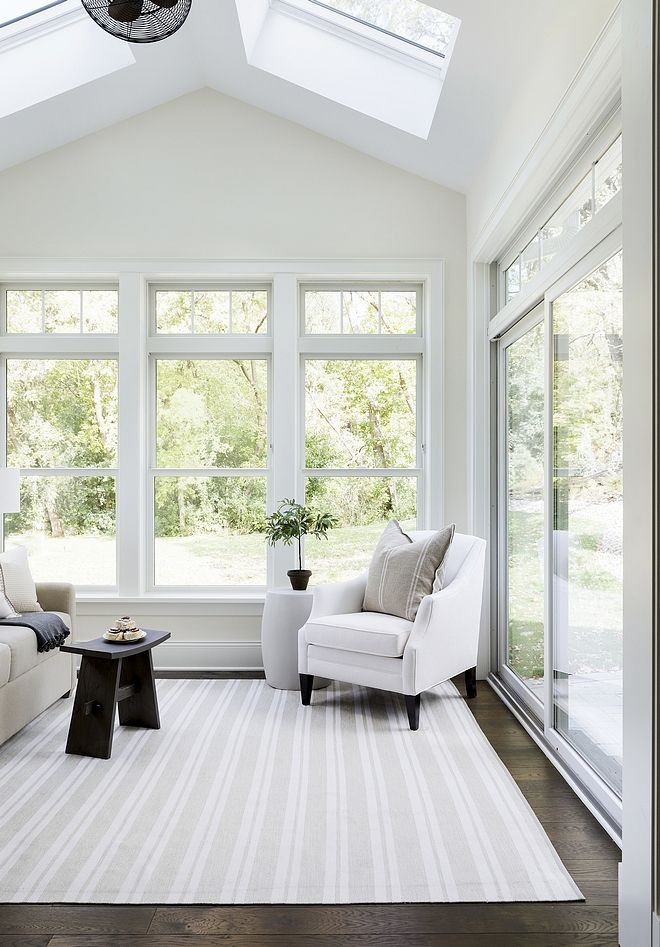 Sunroom Color Scheme Where The Heart Is In 2019 Sunroom