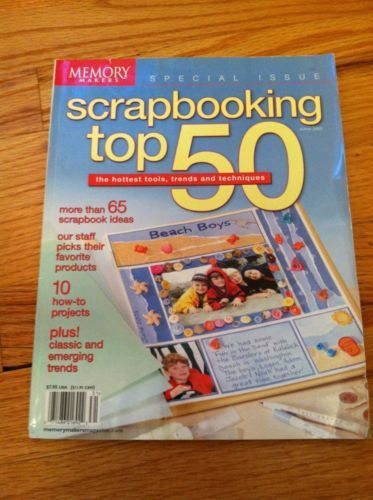 Memory Makers Scrapbooking Top 50 Products Trends Techniques Winter 2003