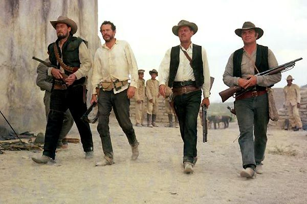 I was dispointed, The Wild Bunch don't look half as wild on Blu-ray.