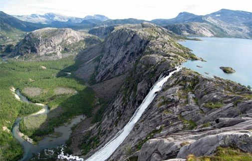 Národní parky - Švédsko