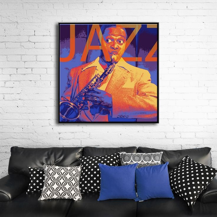 IT'S MY LIFE MIXGALLERY portrait,face,music,jazz,wallart,canvas,canvas print,home decor, wall,framed prints,framed canvas,artwork,art