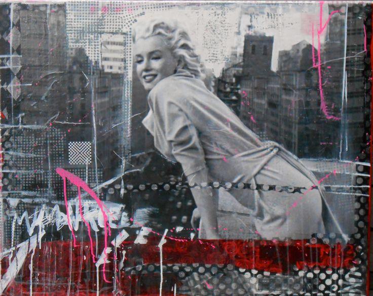 Available @ http://marishagulmann.com/ #art #popart #streetart #icon #marilynmonroe #decor #paintings #artwork #colors #home #invest #gallery #marishagulmanncom