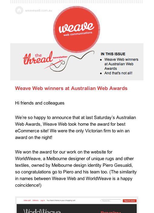 Weave Web Communications (http://weaveweb.com.au)