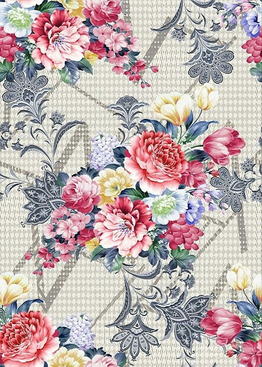 Flower Background Painting