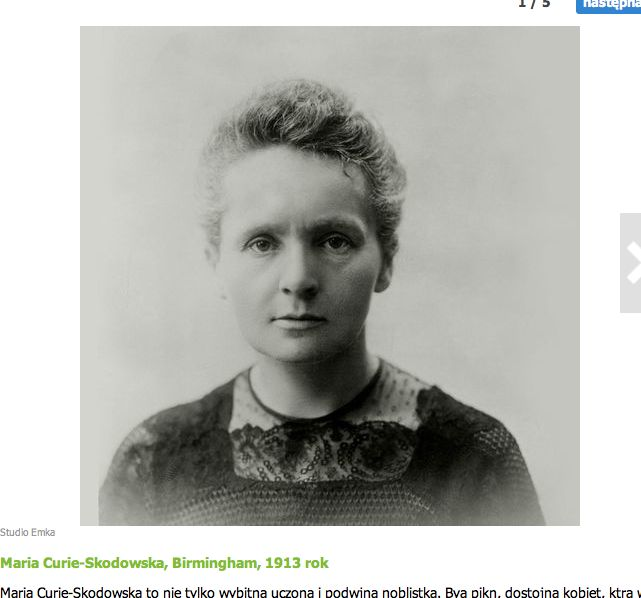 biographies of marie and pierre curie chemists Marie sklodowska was born in warsaw on 7 november 1867, the daughter of a teacher in 1891, she went to paris to study physics and mathematics at the sorbonne where she met pierre curie, professor.