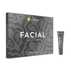 Ultimate Lifting Luxuries Package- This package pairs the performance of our Facial Applicator and Lip & Eye cream-two ultra-luxurious, naturally based formulas that help deliver the appearance of a more youthful looking you. ·         Soften the appearance of those fine lines and wrinkles ·         Feel smooth and soothed through continuous hydration ·         Leaves your skin looking and feeling younger Includes: 1 box of Facials (4 applications) and 1 Lip & Eye (0.5 oz.)