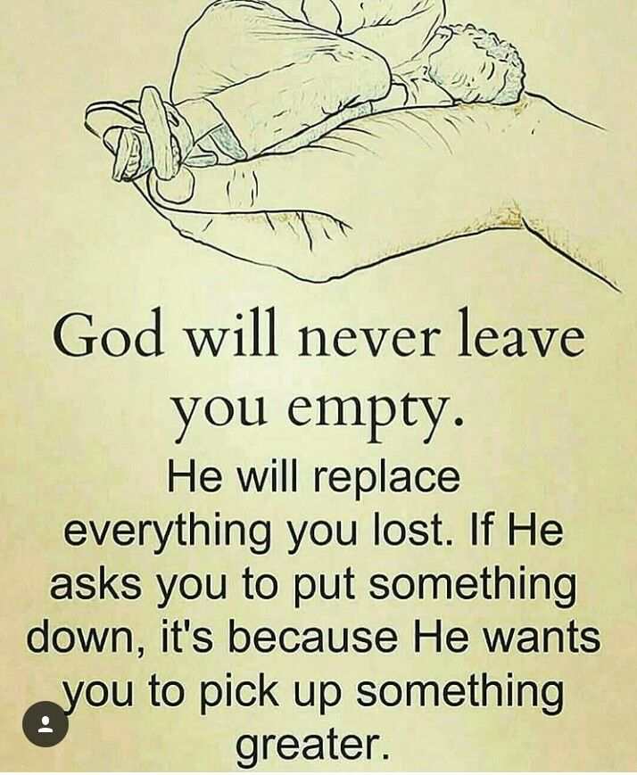God Will NEVER Leave U Empty Beautiful Words Quotes God Best U Beautiful Quotes
