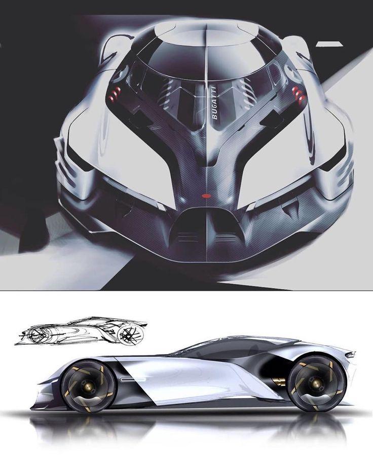 "Automobile Design World on Instagram: ""Bugatti Coupe by Serkan Budur @serkan_budur  #…"