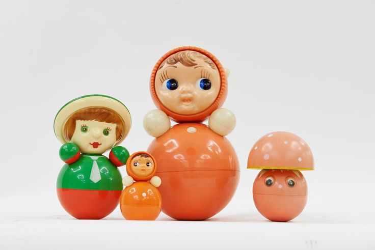 Nevalyashka toy, Russian tilting doll, 1970