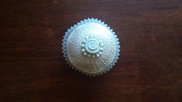 Cupcake made and decorated by Emma Bee.