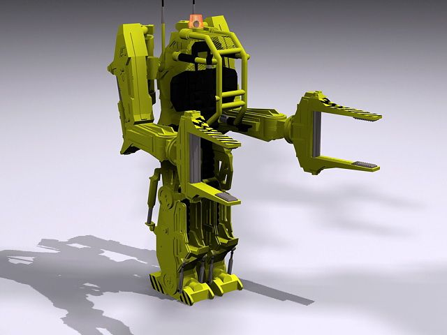 Aliens Power Loader 3d model 3ds Max files free download