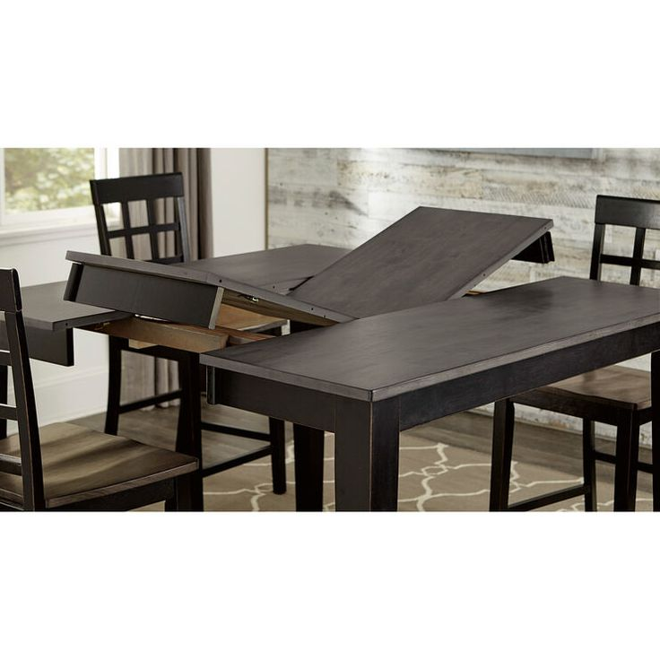 Kinston Gray 5 Piece Counter Set Dining Table In Kitchen Dining Table Sale Solid Wood Dining Table