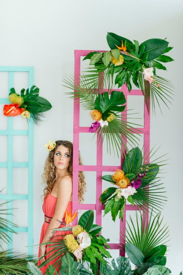 Bold, Brazilian-Inspired Tropical Wedding Inspiration From Leipzig and Christine Meintjes