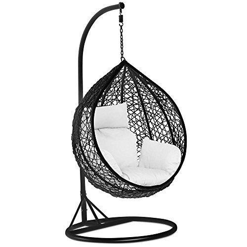 tinkertonk Rattan Swing Chair Patio