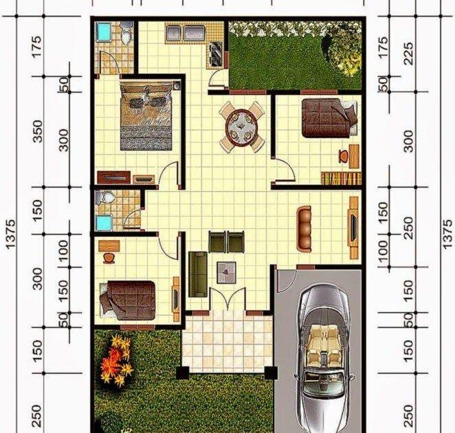 Tren Gambar Denah Rumah Minimalis 3 Kamar Tidur Ukuran 7x10 Berikut Rekomendasi Denah Rumah Minimalis 3 Kamar Tidur Ins Di 2020 Rumah Minimalis Desain Rumah Desain