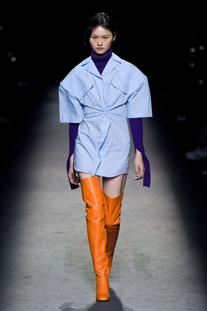 Jacquemus RTW Fall 2016 -great color combo!