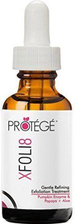Peeling Maske - XFOLI8 - Kürbis Enzym Maske - Peeling für Männer und Frauen - Entfernen Sie abgestorbene Haut ohne Schrubben - Komplett natürlich mit Papaya-Extrakt + Aloe + Bromelain