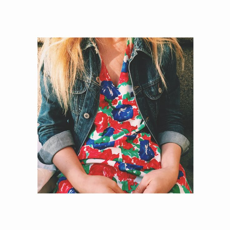 A flower jumpsuit by Laura Gröndahl, Made in Finland.