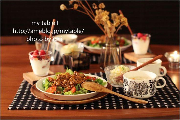 基本のティーマ♪の画像 | my table !