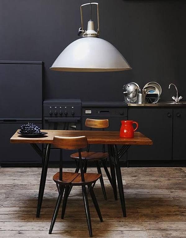Zwarte Kit Keuken