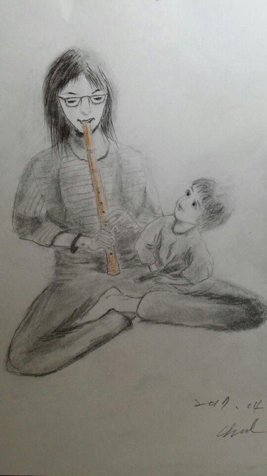 엄마의 정서는 아이에게 양식이 되겟지...