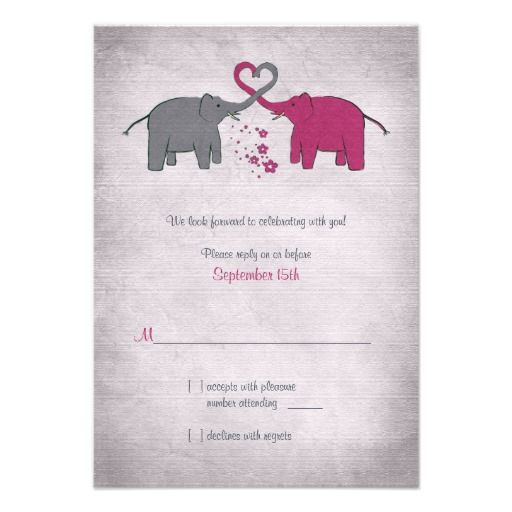==>Discount          	Pink and Grey Elephant Wedding Reply Card Custom Invitation           	Pink and Grey Elephant Wedding Reply Card Custom Invitation Yes I can say you are on right site we just collected best shopping store that haveDeals          	Pink and Grey Elephant Wedding Reply Card ...Cleck Hot Deals >>> http://www.zazzle.com/pink_and_grey_elephant_wedding_reply_card_invitation-161730555932913825?rf=238627982471231924&zbar=1&tc=terrest