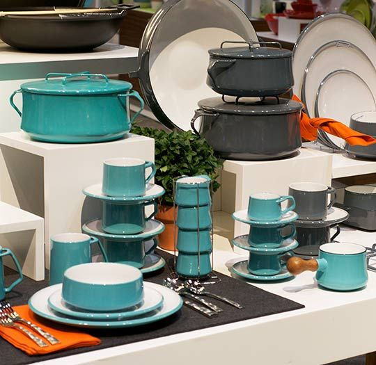New Colors (and Teacups!) for Reissued Dansk Kobenstyle Cookware — International Home + Housewares Show 2013