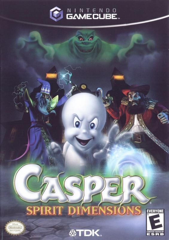 Casper Spirit Dimensions Gamecube Playstation 2 Playstation Gamecube Games
